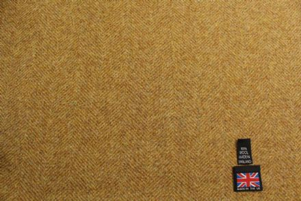 Heavyweight Wool Herringbone Tweed Coating Fabric | BZ60
